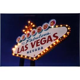 LED-es dekorációs falikép, 60 x 40 cm, Heitronic 34083 Las Vegas