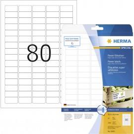 Etikettek, A4, 35,6x16,9 mm, fehér, 2000 db, Herma 10901