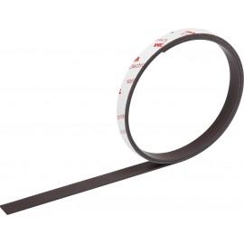Mágneses, öntapadós fólia (H x Sz) 1 m x 12.50 mm, antracit színű TOOLCRAFT 92013c158