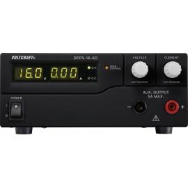 Labortápegység, szabályozható VOLTCRAFT DPPS-16-60 1 - 16 V/DC 0 - 60 A 960 W USB Programozható Kime
