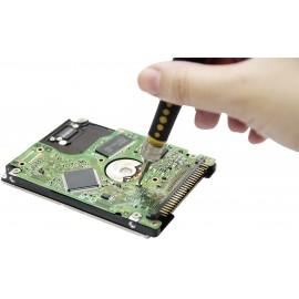 GSM mobiltelefon szétszedő, szerelő szerszámkészlet 17 részes multimédiás BIT készlet Basetech 14976 4. kép