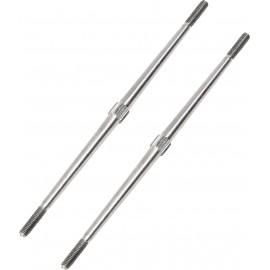 Alumínium tolórúd RC modellrepülőhöz jobb/bal menetes, M3 x 100 mm Reely HY016-00904