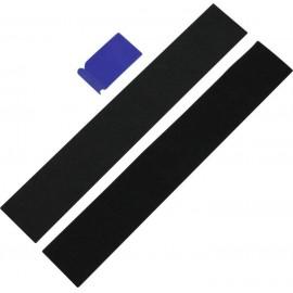 Tépőzáras renszámtábla tartó, univerzális, 49 x 8 cm, IWH