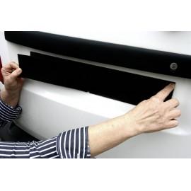 Tépőzáras renszámtábla tartó, univerzális, 49 x 8 cm, IWH 2. kép