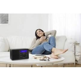 Asztali internet rádió, Bluetooth, AUX, WLAN, DLNA-ra alkalmas, fekete, Renkforce RF-IR-MONO1 11. kép