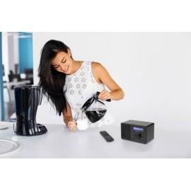 Asztali internet rádió, Bluetooth, AUX, WLAN, DLNA-ra alkalmas, fekete, Renkforce RF-IR-MONO1 12. kép