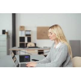 Asztali internet rádió, Bluetooth, AUX, WLAN, DLNA-ra alkalmas, fekete, Renkforce RF-IR-MONO1 13. kép