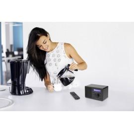 Asztali internet rádió, Bluetooth, AUX, WLAN, DLNA-ra alkalmas, fekete, Renkforce RF-IR-MONO1 15. kép