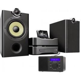 Asztali internet rádió, Bluetooth, AUX, WLAN, DLNA-ra alkalmas, fekete, Renkforce RF-IR-MONO1 16. kép