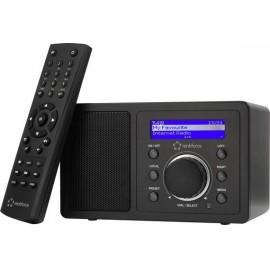 Asztali internet rádió, Bluetooth, AUX, WLAN, DLNA-ra alkalmas, fekete, Renkforce RF-IR-MONO1