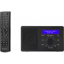Asztali internet rádió, Bluetooth, AUX, WLAN, DLNA-ra alkalmas, fekete, Renkforce RF-IR-MONO1 2. kép