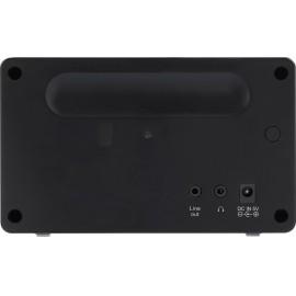 Asztali internet rádió, Bluetooth, AUX, WLAN, DLNA-ra alkalmas, fekete, Renkforce RF-IR-MONO1 3. kép