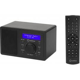 Asztali internet rádió, Bluetooth, AUX, WLAN, DLNA-ra alkalmas, fekete, Renkforce RF-IR-MONO1 5. kép