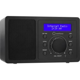 Asztali internet rádió, Bluetooth, AUX, WLAN, DLNA-ra alkalmas, fekete, Renkforce RF-IR-MONO1 6. kép