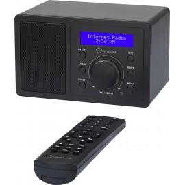 Asztali internet rádió, Bluetooth, AUX, WLAN, DLNA-ra alkalmas, fekete, Renkforce RF-IR-MONO1 7. kép