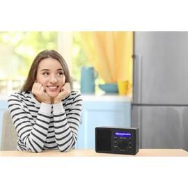 Asztali internet rádió, Bluetooth, AUX, WLAN, DLNA-ra alkalmas, fekete, Renkforce RF-IR-MONO1 9. kép
