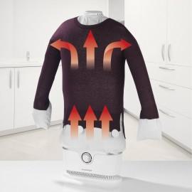 Ruhagőzölő, vasaló ingekhez és blúzokhoz, fehér, 1800 W, CleanMaxx 00384 3. kép