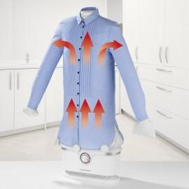 Ruhagőzölő, vasaló ingekhez és blúzokhoz, fehér, 1800 W, CleanMaxx 00384 4. kép