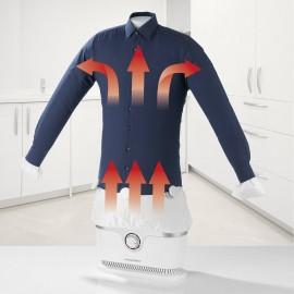 Ruhagőzölő, vasaló ingekhez és blúzokhoz, fehér, 1800 W, CleanMaxx 00384 8. kép