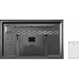Rádiójel vezérelt falióra 370 x 230 x 30 mm ezüst, Eurochron EFWU Jumbo 102 2. kép
