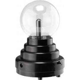 Effektlámpa, mini plazmagömb, fekete, Basetech 1613070 2. kép