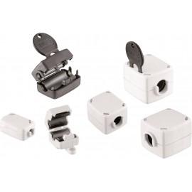 Hajtható ferrit kulcsos technológiával 425 Ω Kábel � (max.) 21 mm (H x Sz x Ma) 56 x 47 x 43 mm Würt