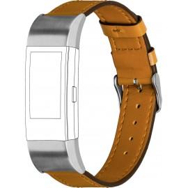 Tartalék karpánt Topp für Fitbit Charge 2 Karamell