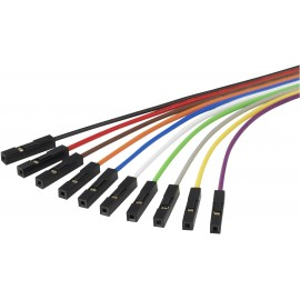 Raspberry Pi csatlakozókábel, színes Raspberry Pi® 1346418 2. kép