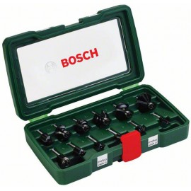 """12 db. HM vágó 1/4 """" -os szárral Bosch Accessories 2607019465"""