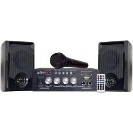 Party KA100 Karaoke berendezés Karaoke funkcióval, Mikrofonnal