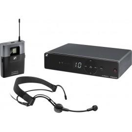 Headset Vezeték nélküli mikrofon készlet Sennheiser XSW 1-ME3-E Átviteli mód:Rádiójel vezérlésű