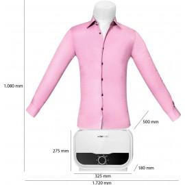 Ing-, blúz- és nadrágvasaló, 1200 W, fehér, Clatronic HBB 3734 8. kép