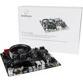 Renkforce Számítógép tuning készlet AMD Ryzen 5 3400G (4 x 3.7 GHz) 16 GB AMD Radeon Vega Graphics V