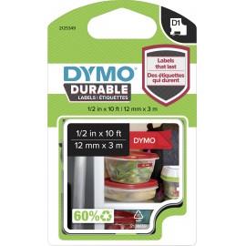 Feliratozó szalag DYMO D1 1978366 Vinyl Szalagszín: Piros Szövegszín:Fehér 12 mm 3 m