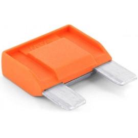 TRU COMPONENTS 8551232 Maxi laposbiztosíték 40 A Narancs 1 db