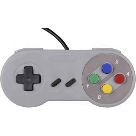 Joy-it Gamepad SNES Design Játékkonzol Raspberry Pi®, Univerzális Szürke