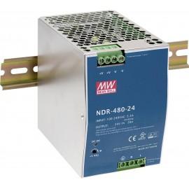 Mean Well NDR-480-24 Kalapsínes tápegység 480 W 1 x