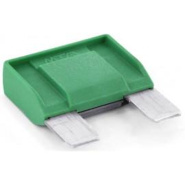 TRU COMPONENTS 8551196 Maxi laposbiztosíték 30 A Zöld 1 db