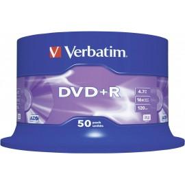 Verbatim 43550 Írható DVD+R 4.7 GB 50 db orsó