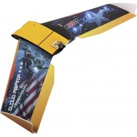 Reely FPV Wing Cloud Raptor RC beltéri repülőmodell építőkészlet 1000 mm
