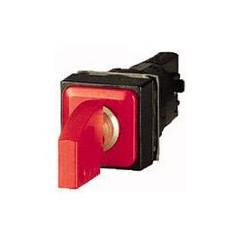 Kulcsos gomb Műanyag előlapi gyűrű Kulcs Piros Eaton Q18S3-RT 1 db