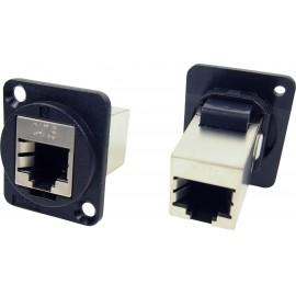 FTP RJ45 Cat6 és RJ45 Cat6 XLR adapter Adapter, beépíthető CP30222SX Cliff Tartalom: 1 db