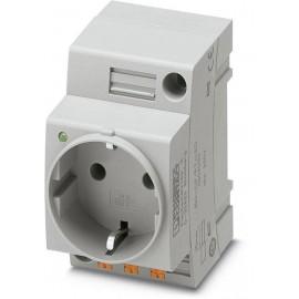 Kapcsolószekrény csatlakozó Phoenix Contact EO-CF/PT/LED Szürke 1 db