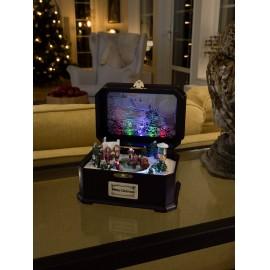 Konstsmide 3405-000 Játékóra gyerekekkel RGBW LED Tarka