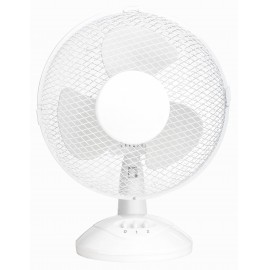Basetech Asztali ventilátor 30 W (Ø x Ma) 270 mm x 460 mm Fehér