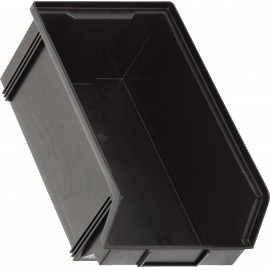ESD tárolódoboz (Sz x Ma x Mé) 200 x 145 x 350 mm Fekete Alutec CB3ZMC 1394103197 1 db