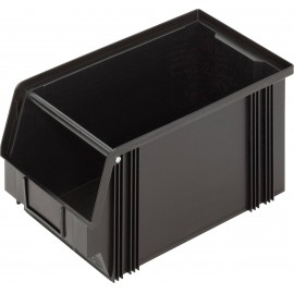 ESD tárolódoboz (Sz x Ma x Mé) 200 x 200 x 350 mm Fekete Alutec CB3MC 1394003197 1 db