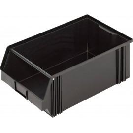 Műanyag doboz (Sz x Ma x Mé) 300 x 200 x 500 mm Fekete Alutec CB2MC 1394002197 1 db