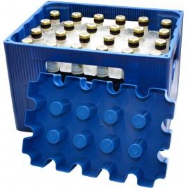 Palackhűtő jégkocka forma SL Eisblock 20x0,5l Palackhűtő Kontakt Kék