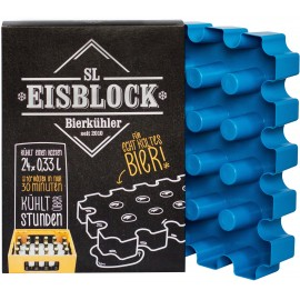 SL Eisblock 24x0,33l Palackhűtő Kontakt Kék